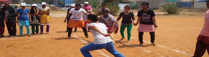 sports meet of aditya nursing