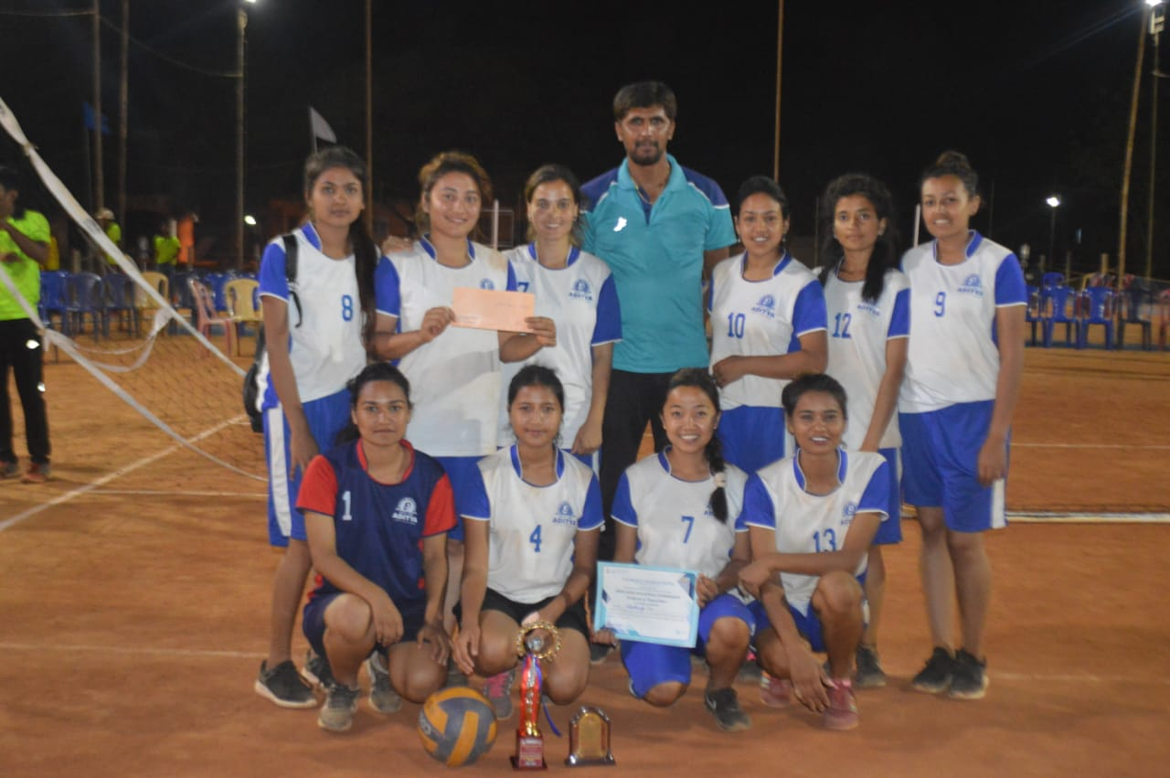 Aditya Girls Volleyball Team